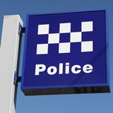 picture of police sign post